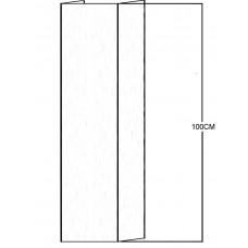 Cache Tuyau TUBEMB/1/FACE | Pour cheminée Faciale (frontale) ou de Coin - 1 mètre linéaire