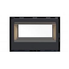 Pack Complet Insert Classic Double Face Modèle C-180Df Porte Battante Avec Puissance De 13Kw Marque Termofoc Avec Ventilation 2 Vitesses + 2X Pour Insert C-180Df Option Cadre 4 Côtés Acier Cadre 4L - Dimensions :856X614X40Mm (Pour 1 Face)